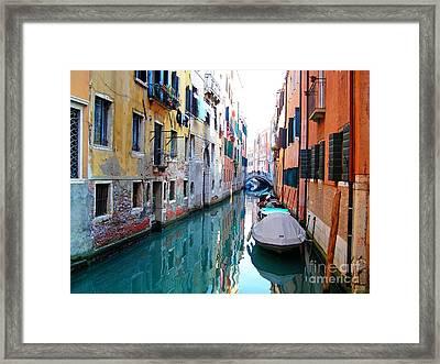 Venetian Calm Framed Print