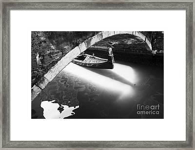 Venetian Canals Framed Print by Yuri Santin