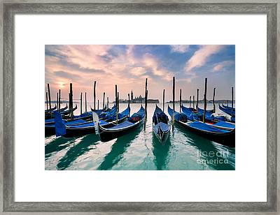 Venetian Dawn  Framed Print by Rod McLean