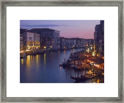 Venetian Evening Framed Print
