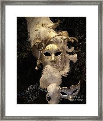 Venetian Face Mask B Framed Print