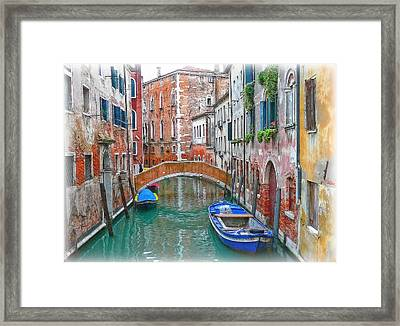 Venetian Idyll Framed Print by Hanny Heim