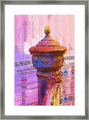 Venetian Life Framed Print