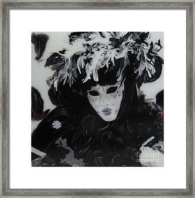 Venetian Mask Framed Print by Betta Artusi
