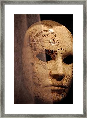 Venetian Mask Framed Print by Matt MacMillan