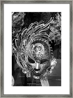 Venetian Mask Framed Print by Tom Bell