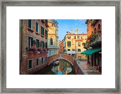 Venetian Paradise Framed Print by Inge Johnsson