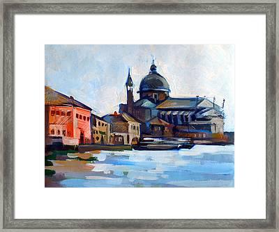 Venetian Shoreline Framed Print by Filip Mihail