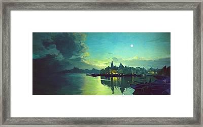 Venetian Twilight Framed Print by Paul Tagliamonte