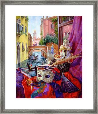 Venetian Window Framed Print