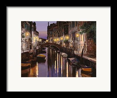 Dock Framed Prints