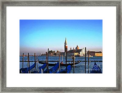 Venezia City Of Islands Framed Print