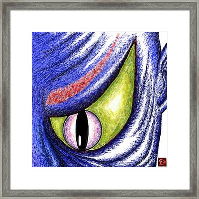 Framed Print featuring the digital art Vengeance  by Andy Heavens