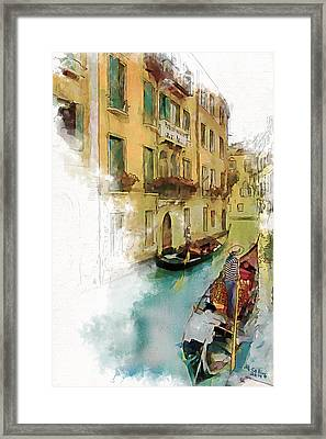 Venice 1 Framed Print by Greg Collins