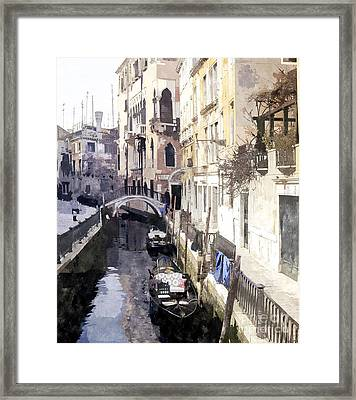 Venice 1 Framed Print by Julie Woodhouse
