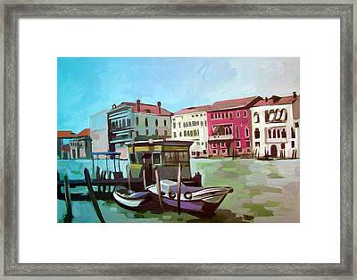 Venice 5 Framed Print by Filip Mihail