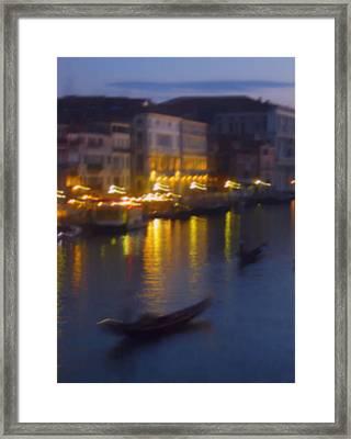 Venice Abstract Framed Print