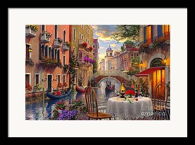 Coloured Framed Prints