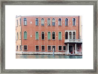Venice Apartment Framed Print