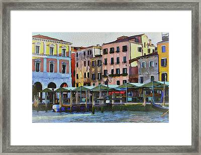 Venice Architecture 3 Framed Print