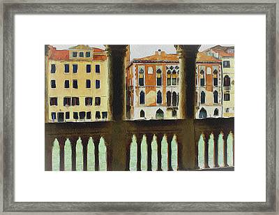 Venice Architecture 4 Framed Print