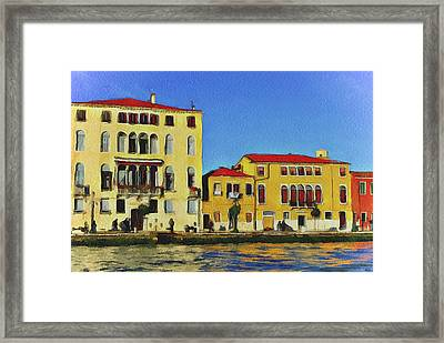 Venice Architecture 5 Framed Print