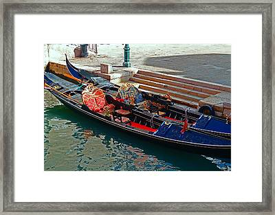 Venice At Three Framed Print by Ira Shander