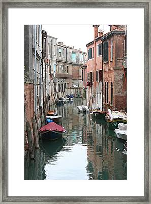 Venice Backstreets Framed Print