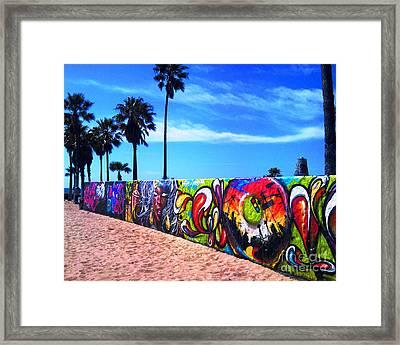 Venice Beach Flavor Framed Print