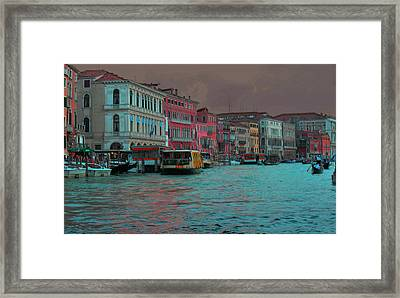 Venice Before The Storm Framed Print