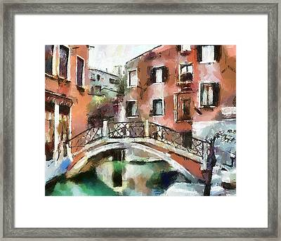 Venice Bridges 1 Framed Print