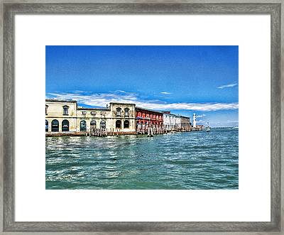 Venice By Sea Framed Print