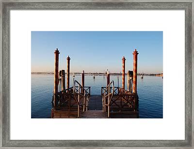 Venice  Framed Print by C Lythgo
