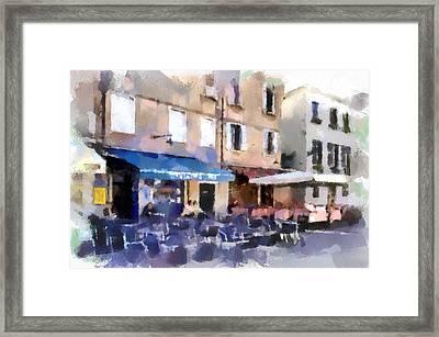 Venice Caffe Framed Print by Yury Malkov