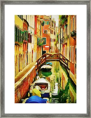 Venice Canals 19 Framed Print by Yury Malkov