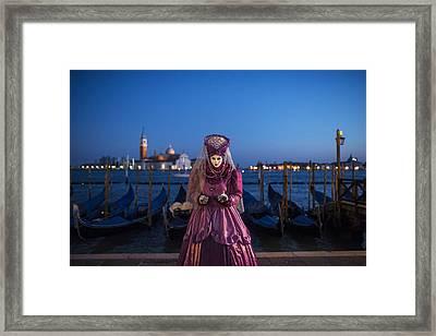 Venice Carnival '15 V Framed Print