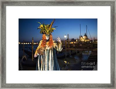 Venice Carnival '15 Vi Framed Print