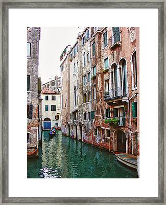 Venice City Of Water 2 Framed Print by Julie Palencia