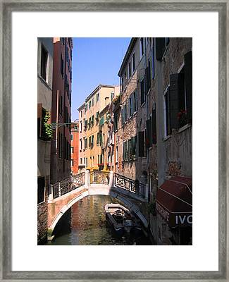 Framed Print featuring the photograph Venice by Dany Lison