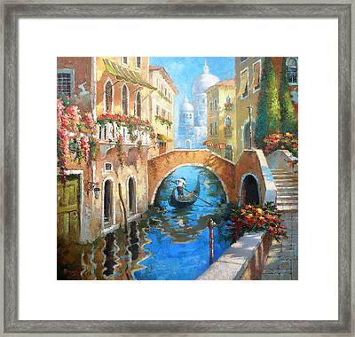 Venice Framed Print by Dmitry Spiros