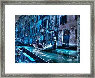 Framed Print featuring the photograph Venice Dream by Hanza Turgul