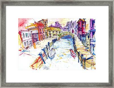 Venice Framed Print by Edgar Rafael