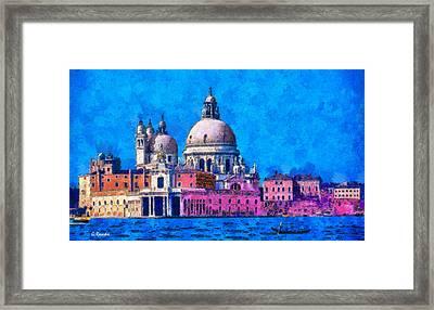 Venice Framed Print by George Rossidis