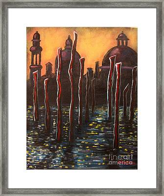 Venice Impressions Framed Print