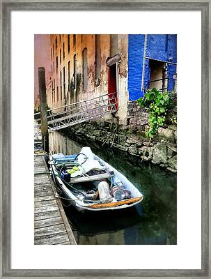 Venice In New York Framed Print by Diana Angstadt