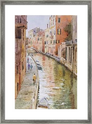 Venice In October Framed Print by Andrii Gerasymiuk