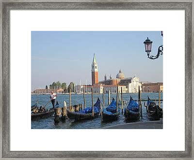 Venice In Springtime Framed Print