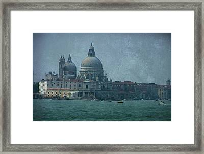 Framed Print featuring the photograph Venice Italy 1 by Brian Reaves