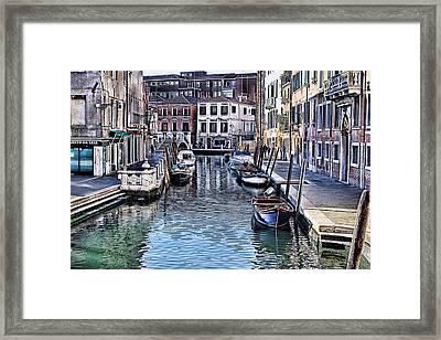 Venice Italy Iv Framed Print by Tom Prendergast