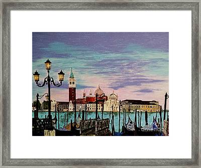 Venice  Italy By Jasna Gopic Framed Print